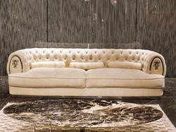 Прямой диван OBERON в LUXURYSOFAS