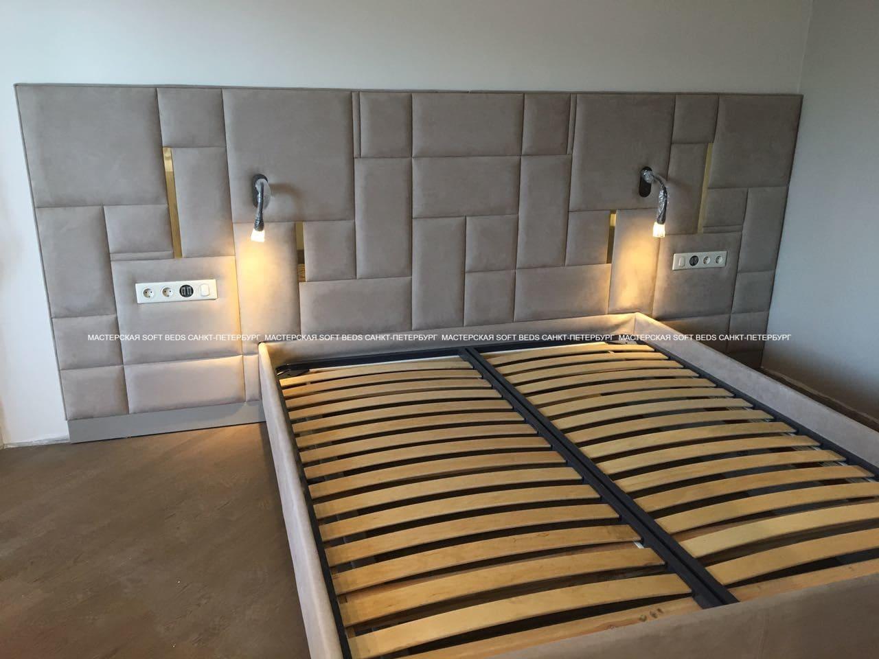Кровать+панель SB6