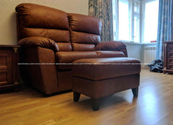 Кожаный диван LS285
