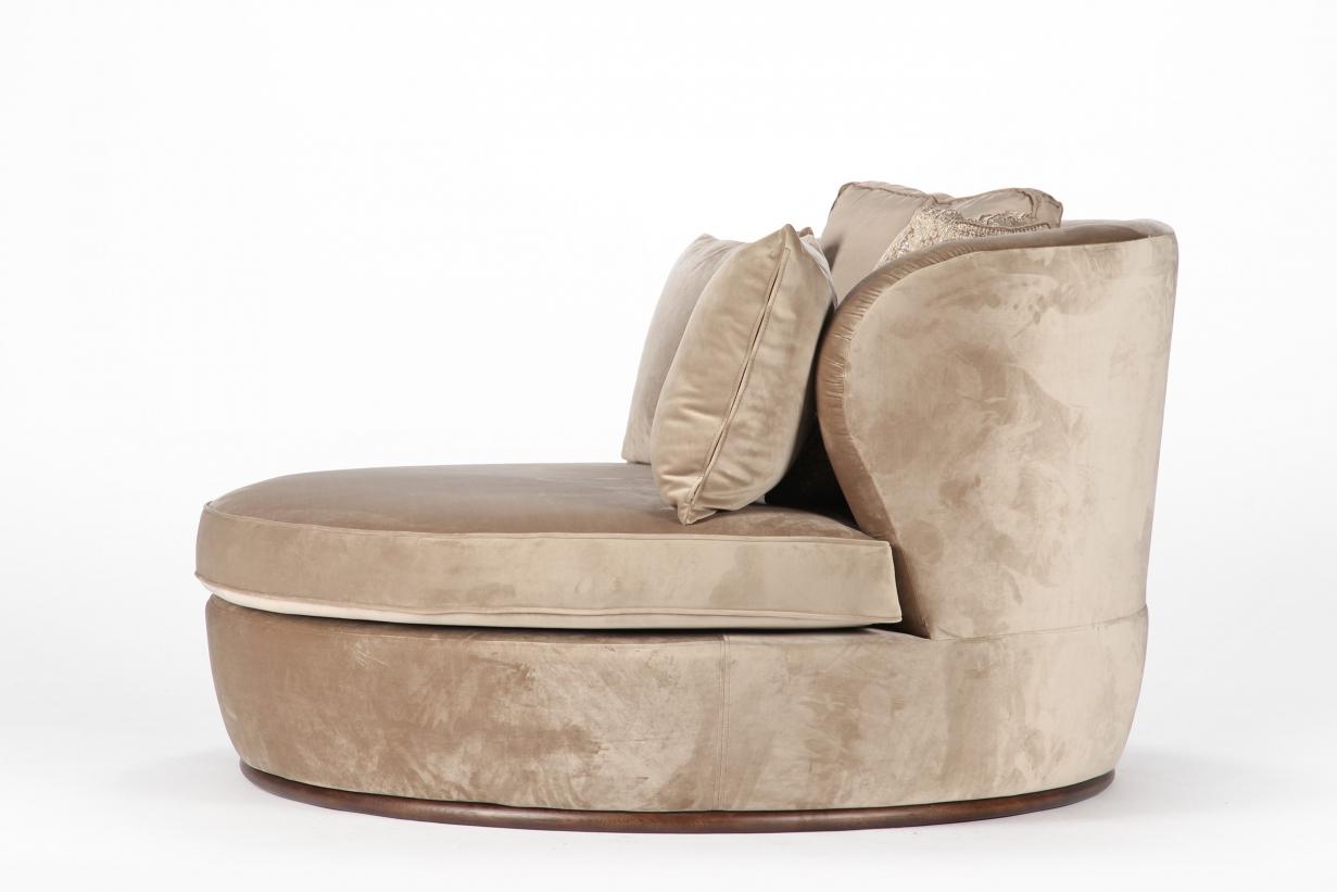 Круглый диван MOHO в LUXURYSOFAS