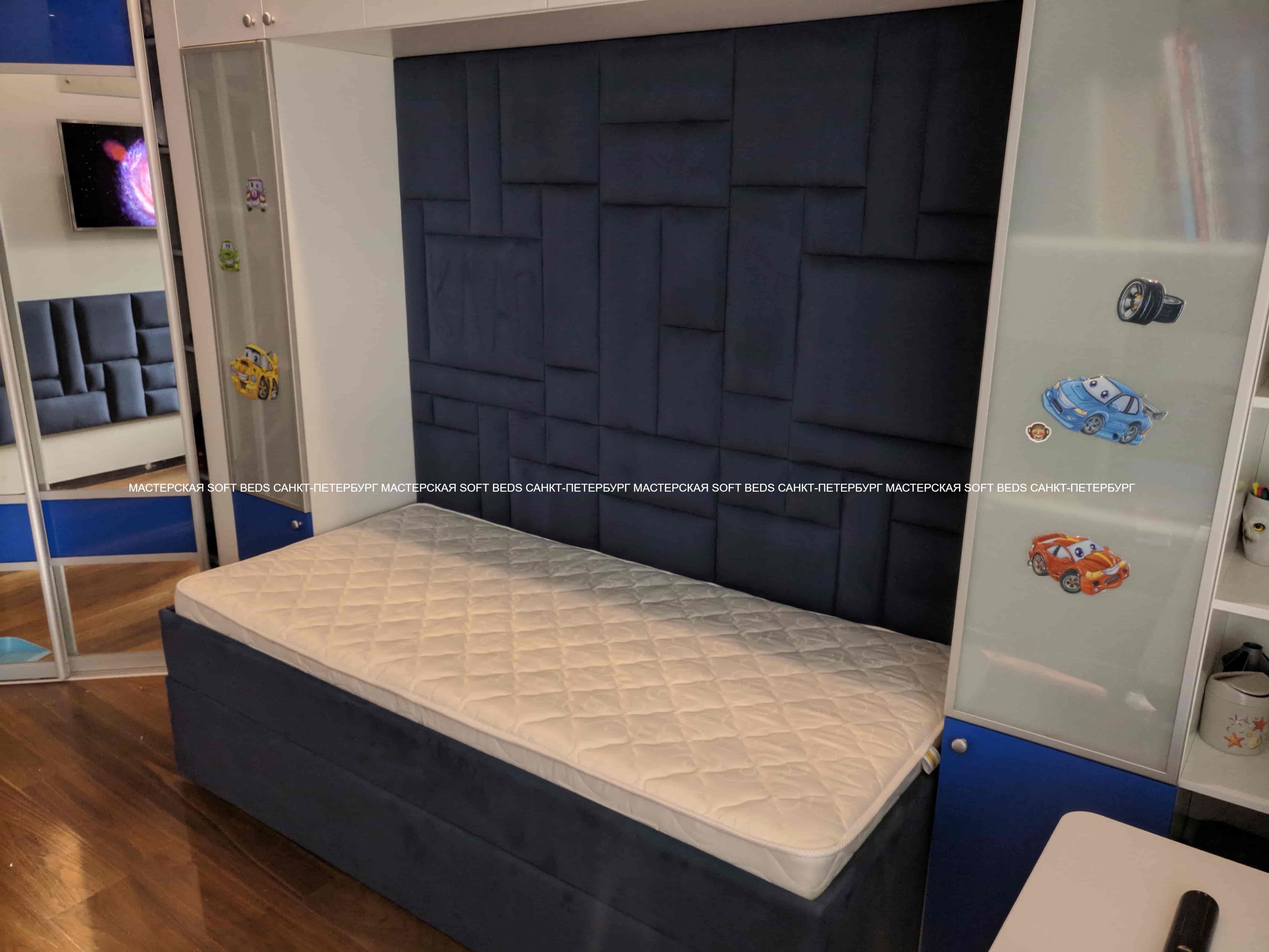 Кровать+панель SB310