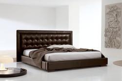 Кровать с высоким изголовьем MARLON