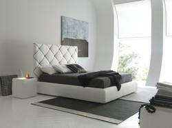 Кровать с мягким изголовьем Dubai