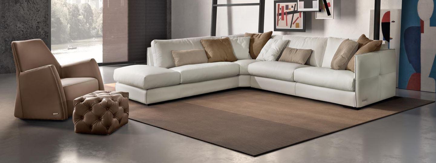 Угловой диван ALFRED в LUXURYSOFAS
