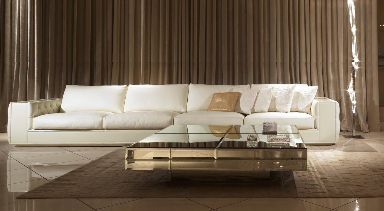 Прямой диван ASHTON в LUXURY SOFAS