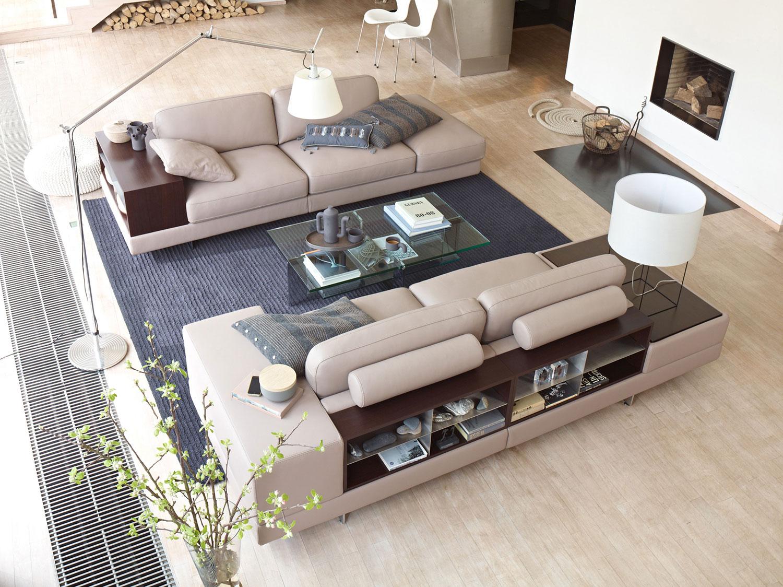 Прямой диван LARGO в LUXURYSOFAS