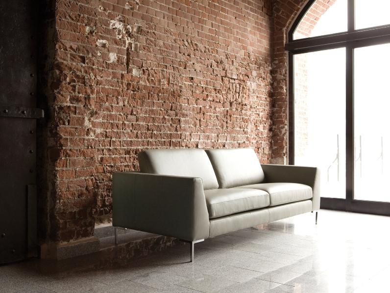 Прямой диван OHIO в LUXURYSOFAS