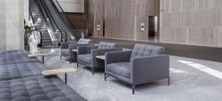 Прямой диван LOUNGE в LUXURYSOFAS