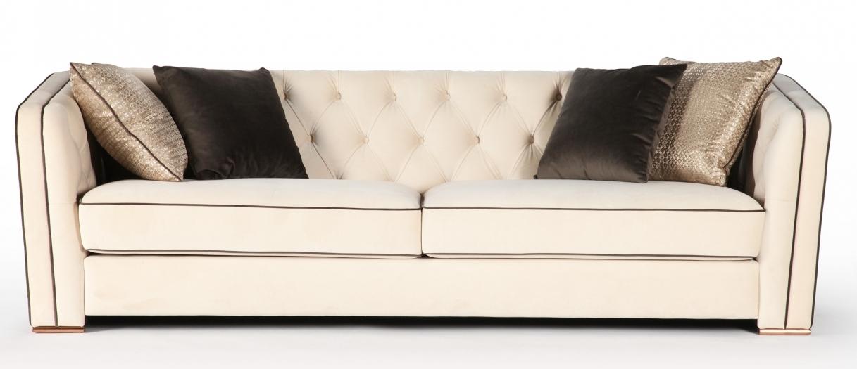 Прямой диван PAOLO в LUXURYSOFAS