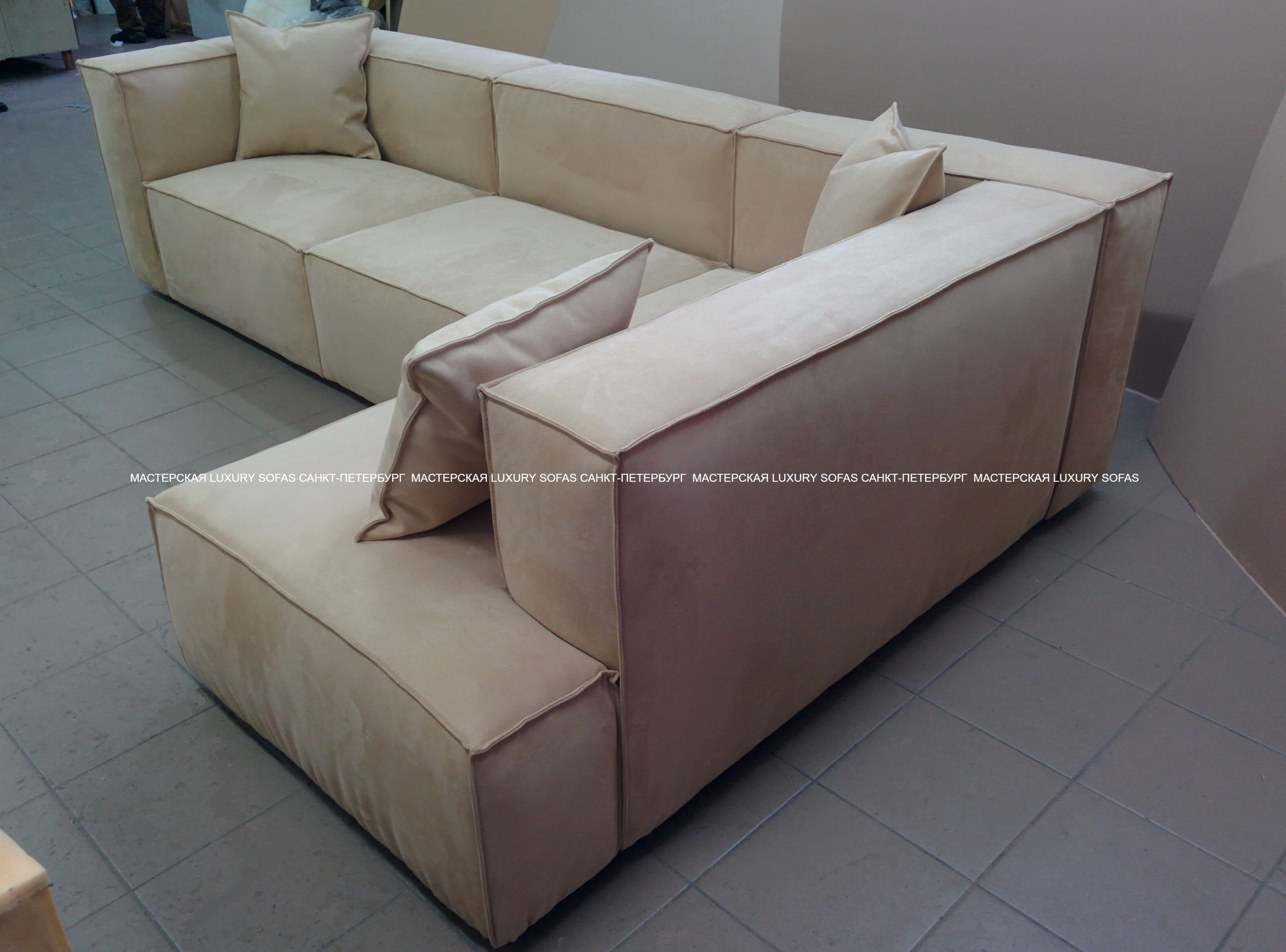 Угловой диван LS163