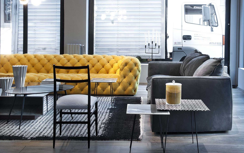 Прямой диван BAXTER в LUXURYSOFAS