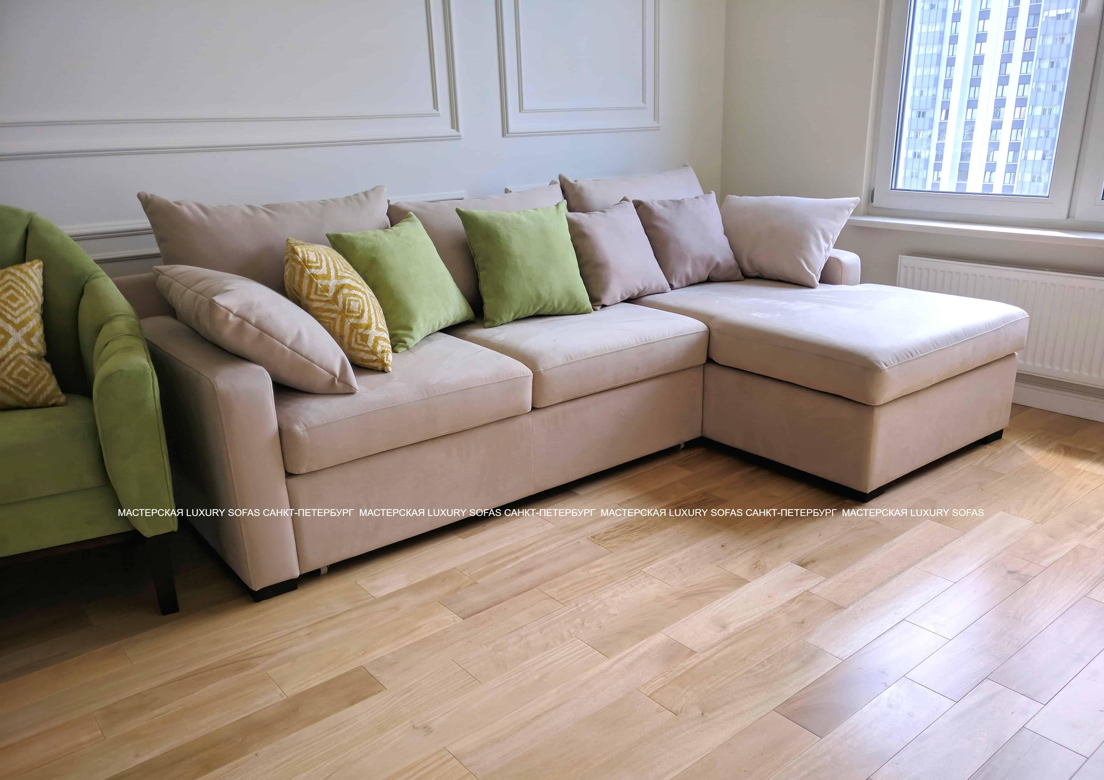 Угловой диван LS184