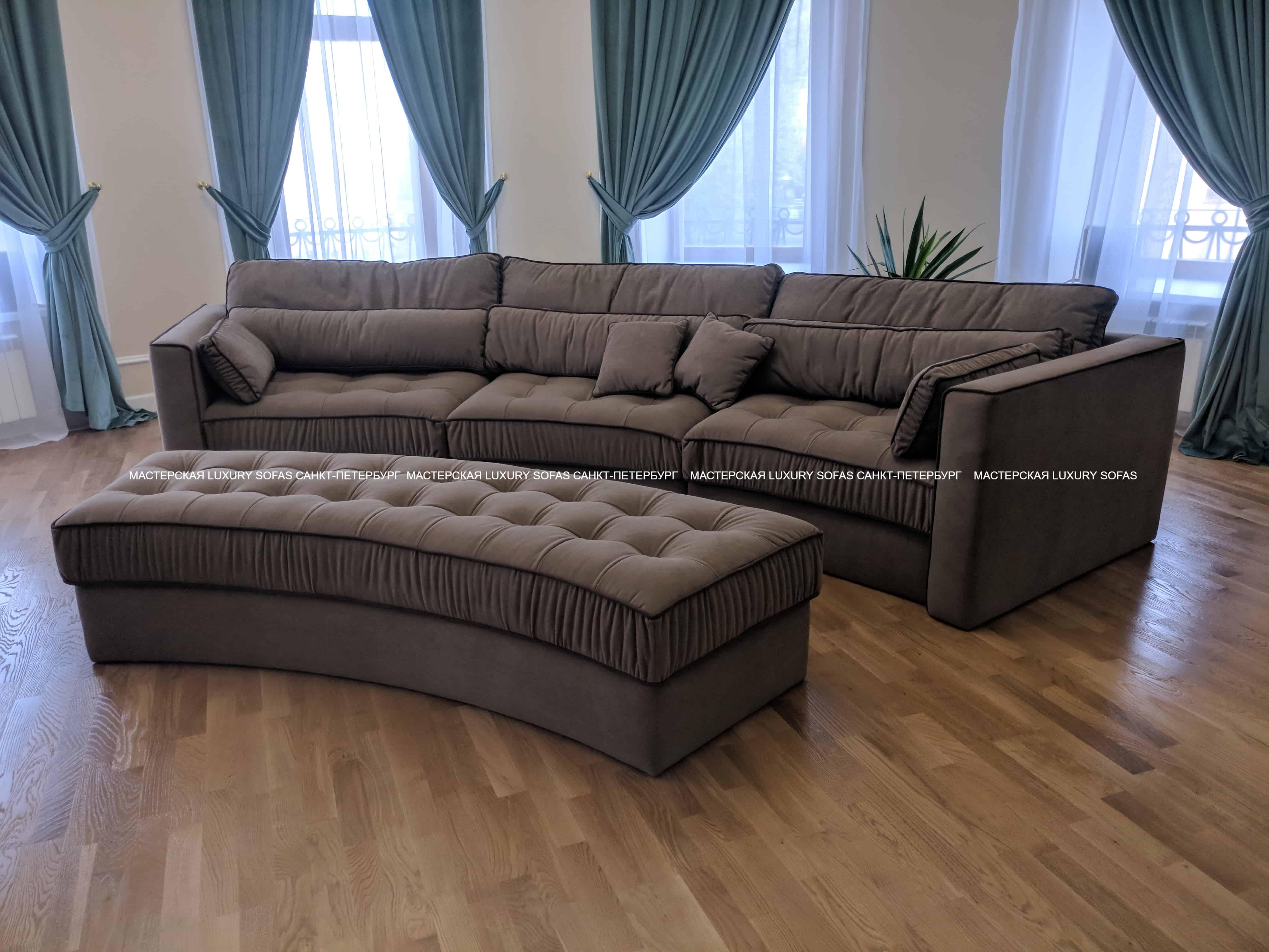 Эркерный диван LS253
