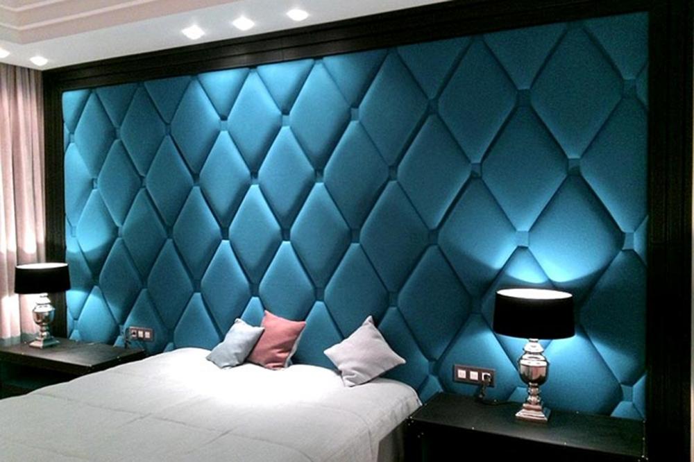 Стеновые панели ромбы
