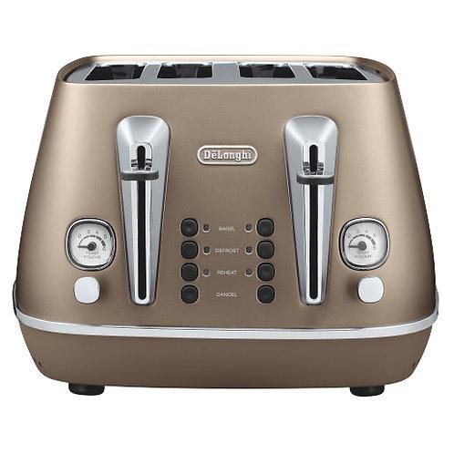 DeLonghi - Distinta 4 Slice Toaster