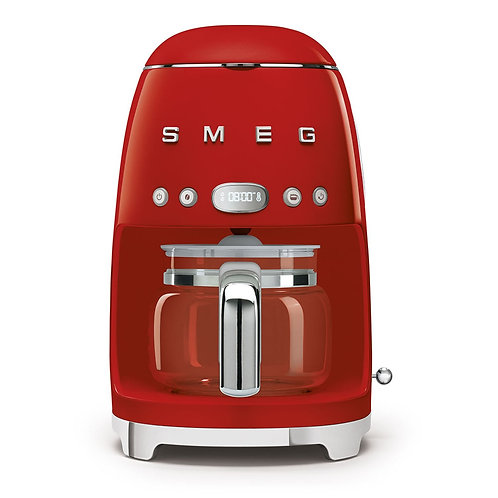 Smeg Coffee Machine, Red
