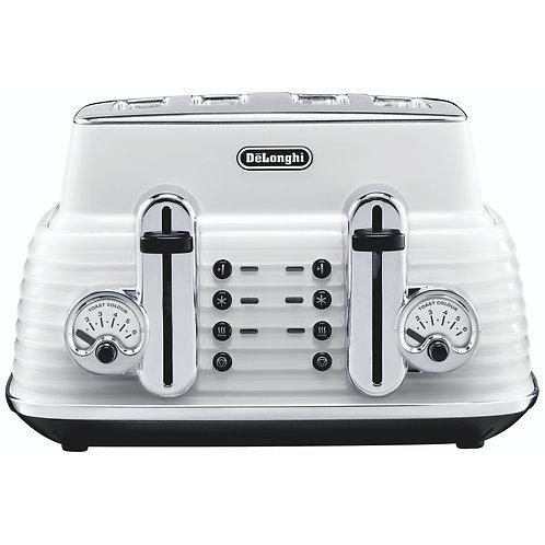 DeLonghi - Scultura 4 slice Toaster