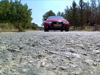 אדומה וחמה, הונדה סיביק Type-R