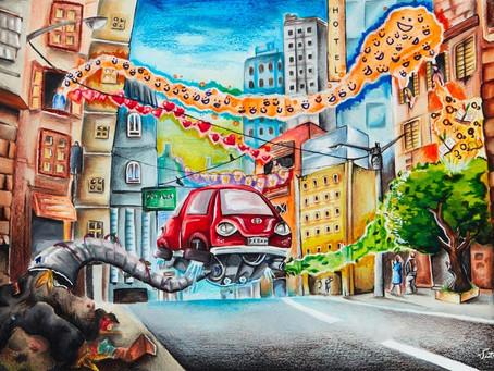 תחרות ציורי מכונית החלומות 2018