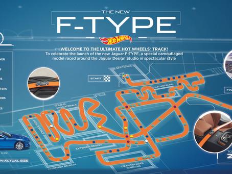 הוט ווילז ויגואר מייצרות מכונית F-TYPE עם מסלול לילדים