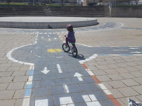 ללמד רכיבה על אופניים בלי גלגלי עזר