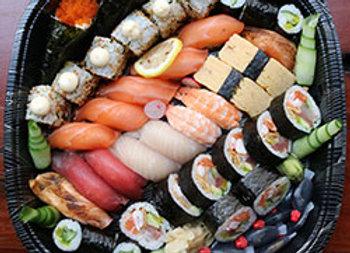 Mixed sushi large platter - serves 6