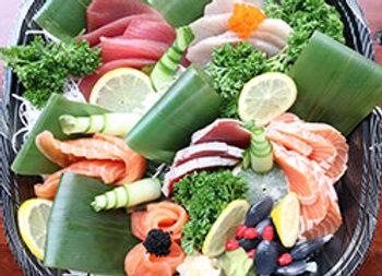 Sashimi large platter - serves 6