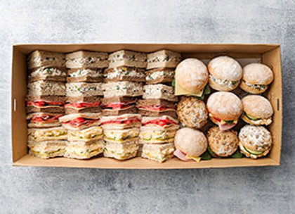 Sandwiches and rolls box