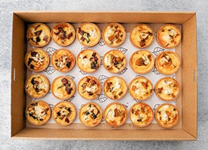 Savoury tarts box
