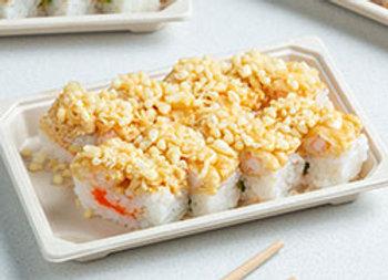 Tempura prawn sushi