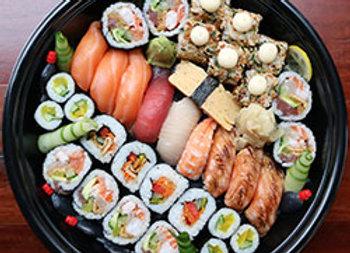 Mixed sushi medium platter - serves 4
