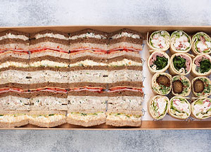 Sandwiches and wraps box