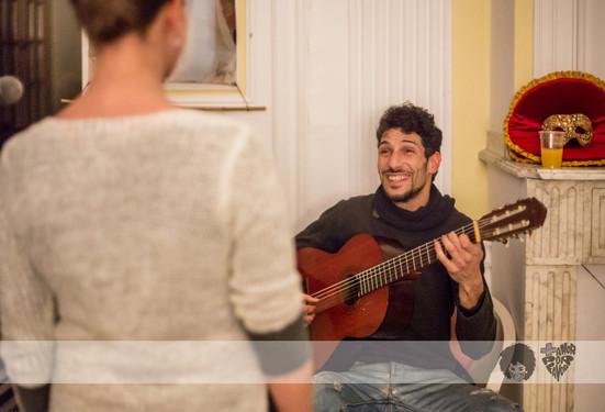Concert flamenco improvisé