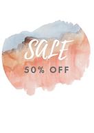 Sale 50% off round sticker.png