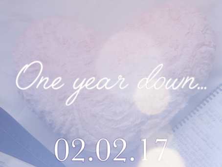 One year of My Heart's Cry!