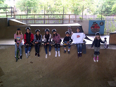 Girl Skateboarders