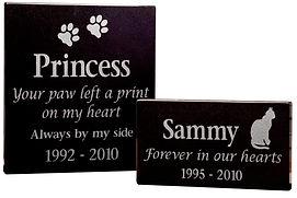 Granite Pet Plaque