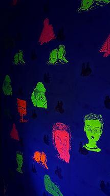 Marie Kolb/dessin contemporain/artiste émergent/carbonne sur papier