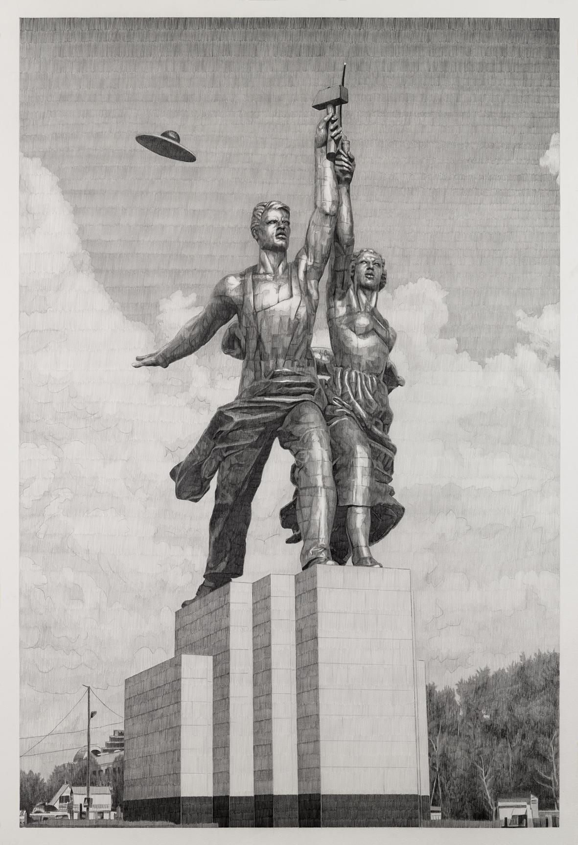dessin, ouvrier, communisme