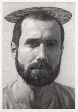 Tibaut Huchard, autoportrait