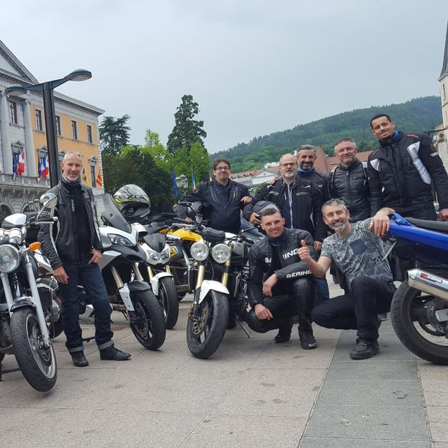 Balade en moto - 25 Mai