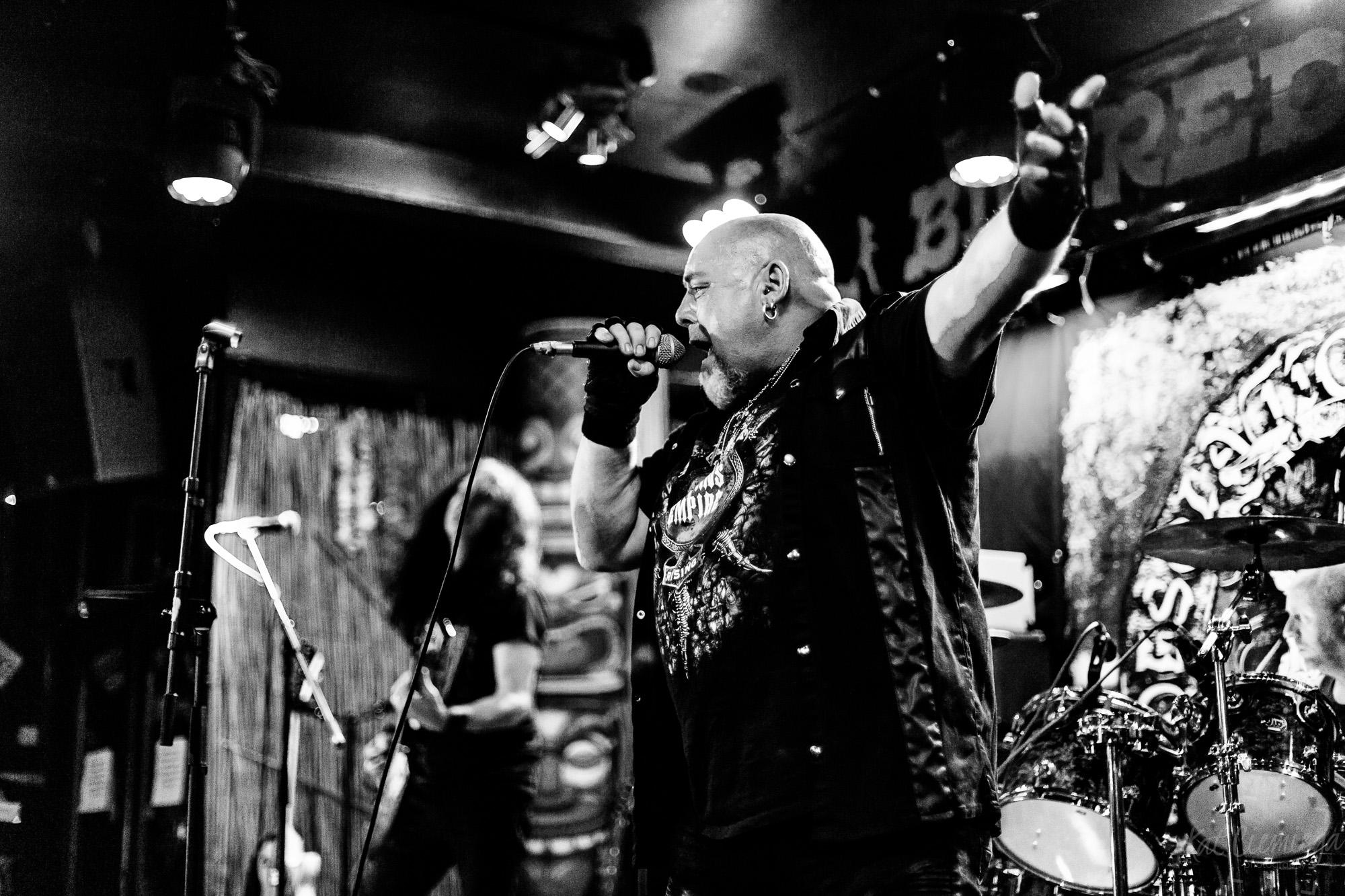 Satan's Empire, Kat Ciemiega Photography, concert photographer, live music London, concerts London, pubs London, The Big Red