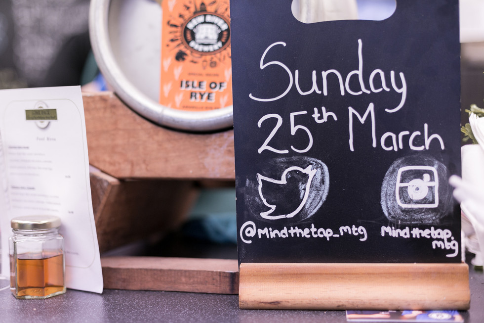 Mind the Gap Beer Festival March 2018