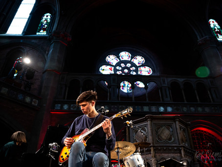 Maria and Jamie at Daylight Music concert