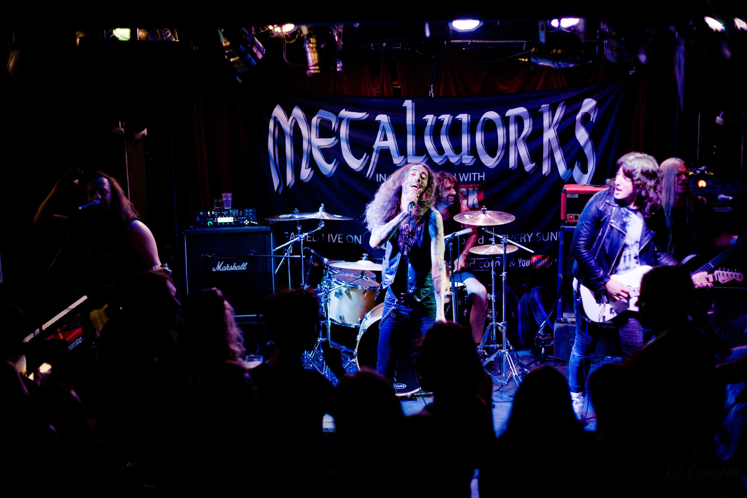 Kat Ciemiega Photography, Metalworks, The Monarch Camden, Camden, Concert Photography