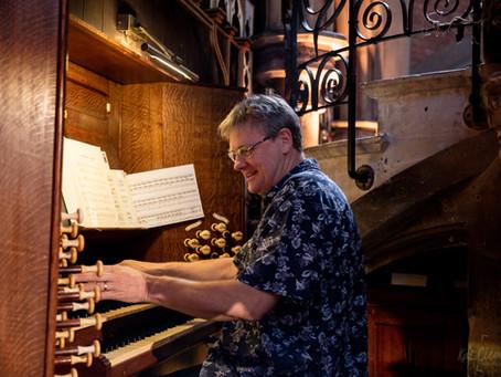 Peter Scott organ concert at Daylight Music