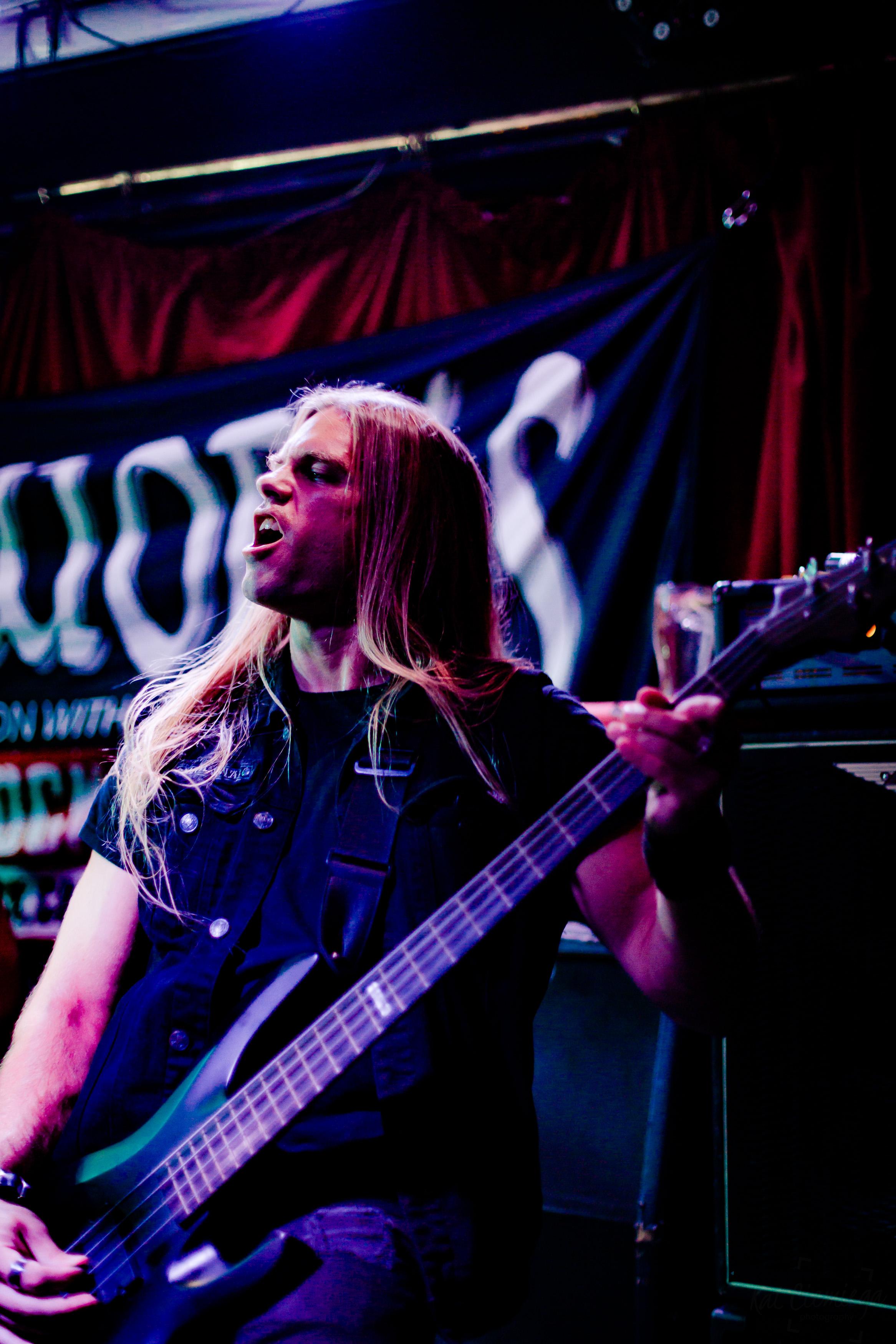 Kat Ciemiega Photography, Metalworks, The Monarch Camden, Camden, Concert Photography, Jake Thorsen