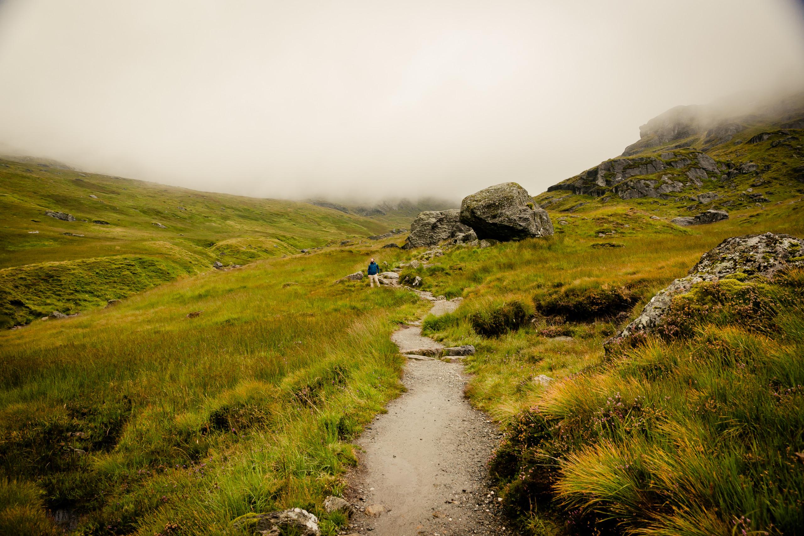 Scottish Highlands. Scotland, landscapes, hiking