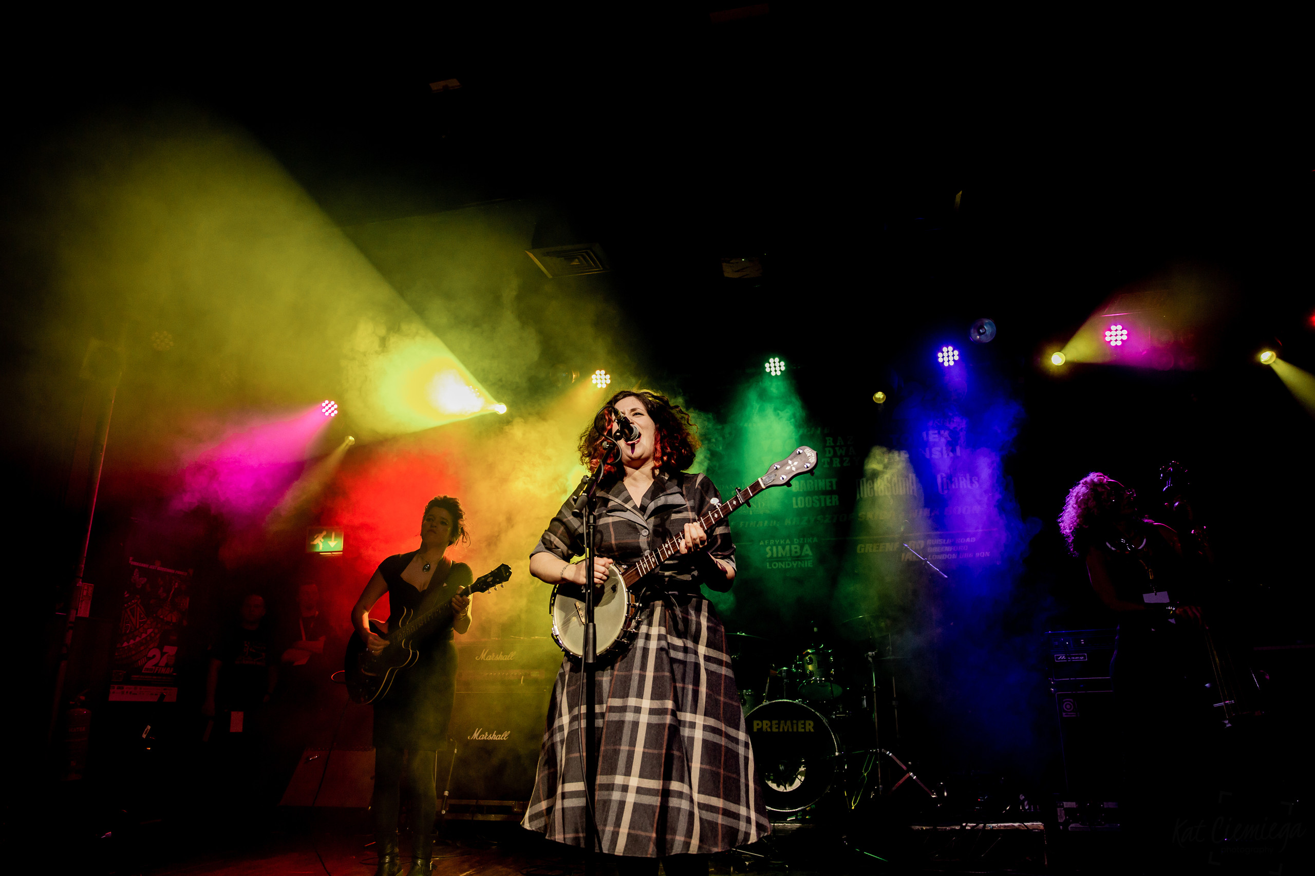 Kat Ciemiega photography, photographer London, events London, WOSP, WOŚP, Scala, Dana Immanuel and the Stolen Band