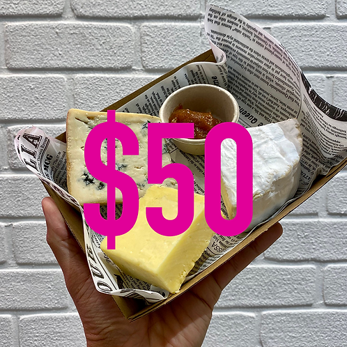 $50 Australian Cheese Platter